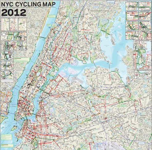 Bike Nyc Map NYC Bike Map