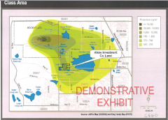 Rocky Flats Plutonium Contamination Map